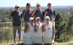 Golf teams capture district titles