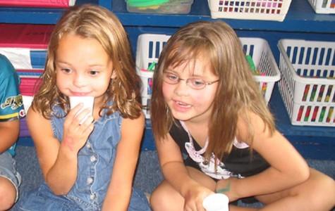 Sipes, Qualls kindergarten pals