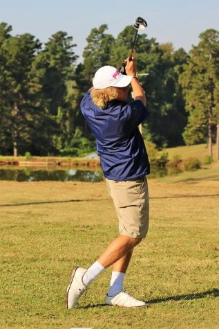 Trey Depriest qualified for the overall State Golf Tournament.