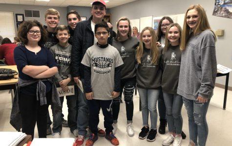BIC Junior High Quiz Bowl Places Third in District Tournament