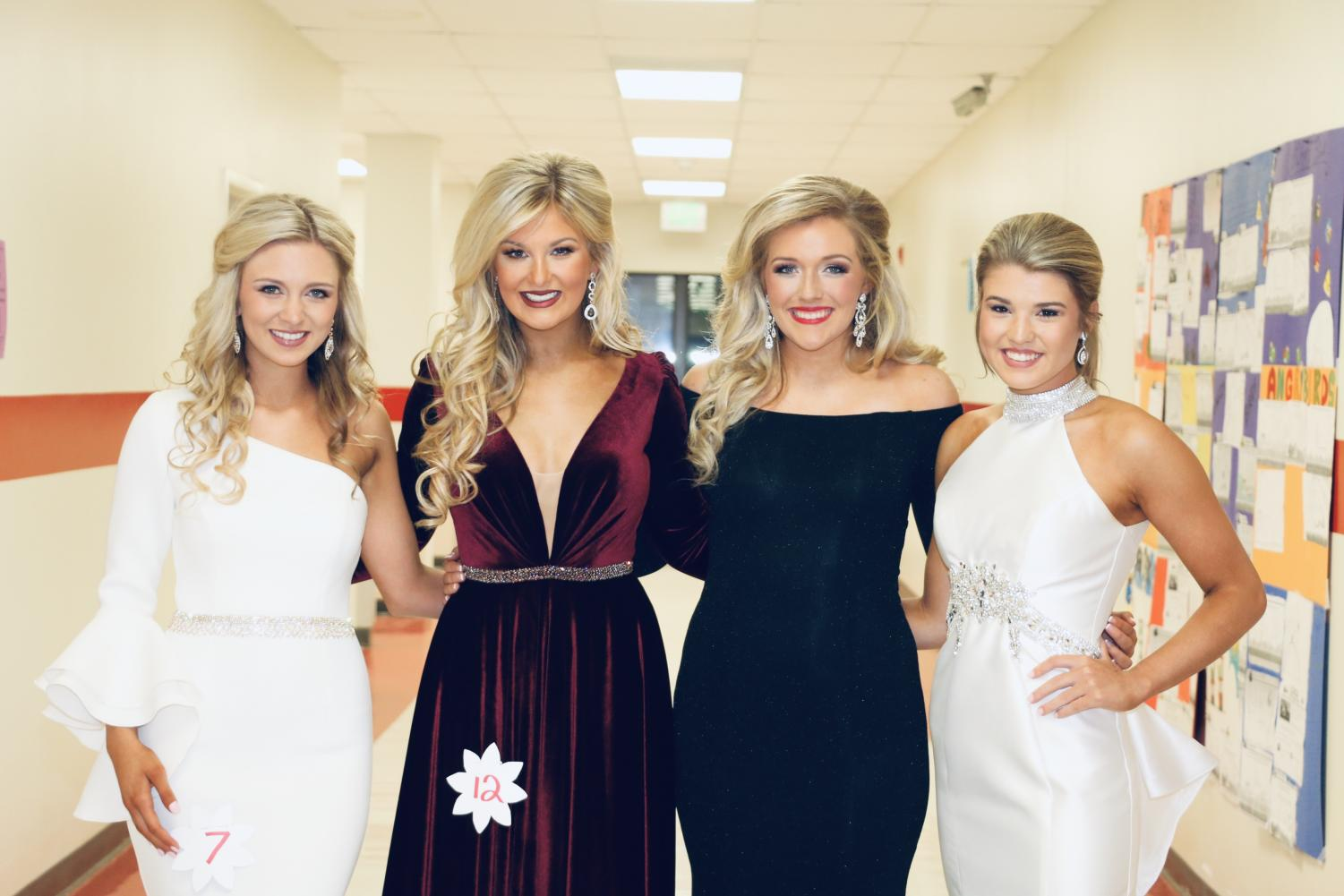 From left: Morgan James, Alexa Whitley, Olivia Cornish, and Baylee Rose