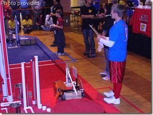 Robotics team has another successful competition