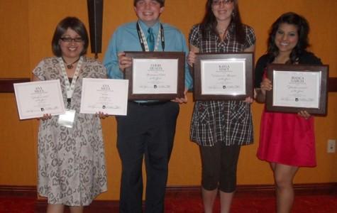 Journalism staff wins at ASPA convention