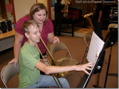 Band director turns  passion into career
