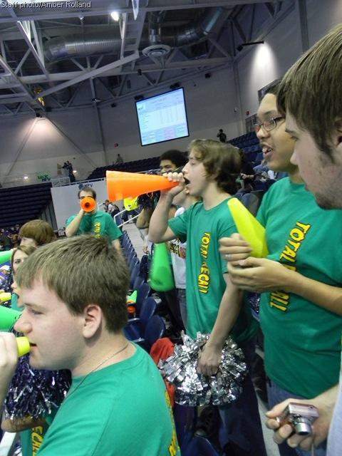 Robotics team faces the final frontier