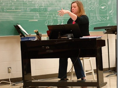 Jackson a pleasant surprise for choir students