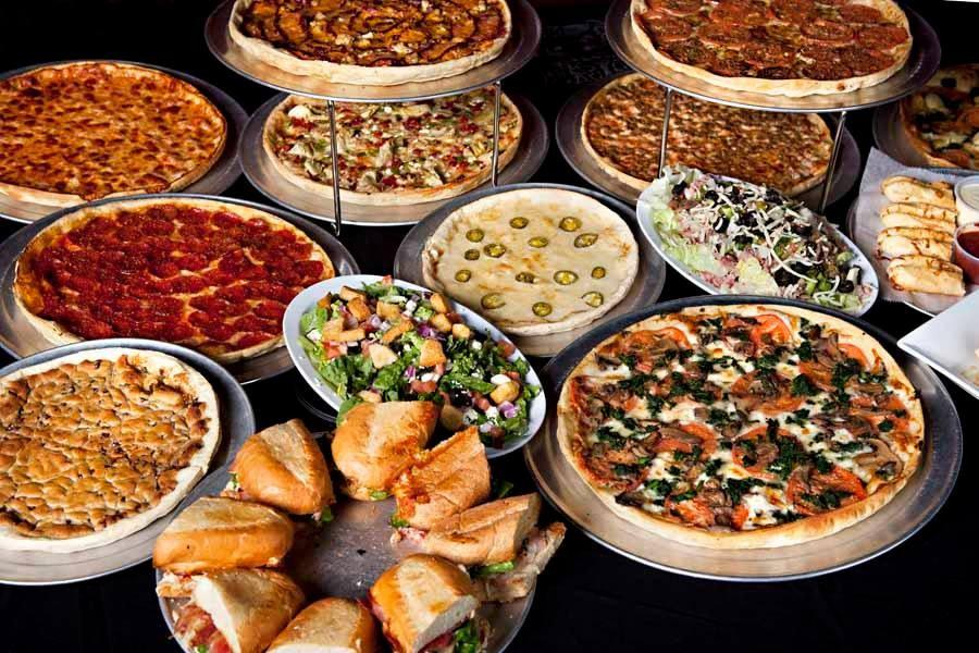 A+sampling+of+the+menu+items+available+at+Upper+Crust+Pizza+in+Jonesboro