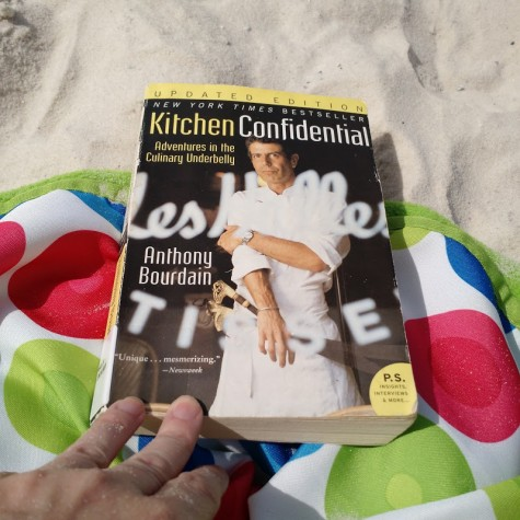 Tracey Yates is reading Anthony Bourdain's debut book,