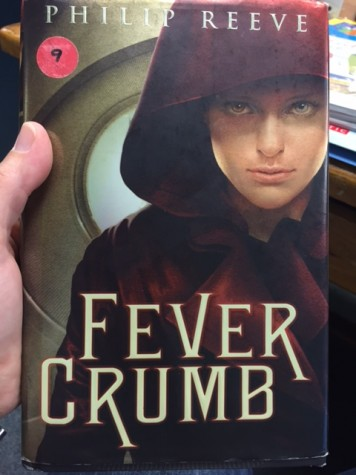 Librarian Melinda Wells is reading Fever Crumb, this month's Book Club selection.