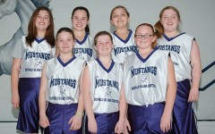 This photo of the 2011 sixth grade girls' basketball team features current juniors (from left, front) Curston Davis, Kensie Walker, Lexie Ray; (back) Madison Brown, Kayla Griffin, Jona Carmichael and Maddigan Carroll.