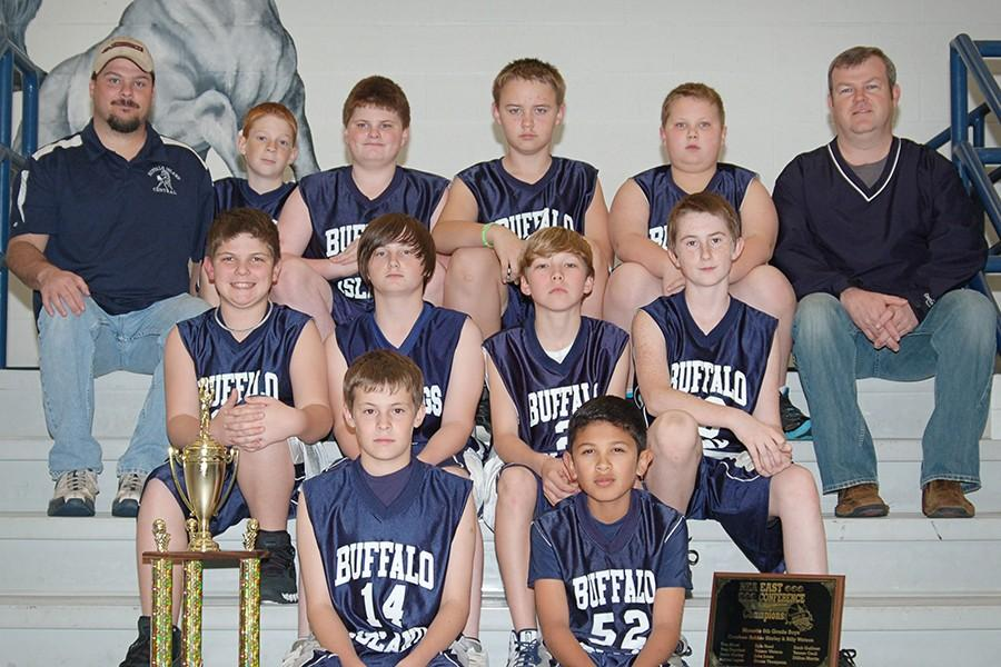 Members+of+this+year%27s+junior+class+are+shown+in+the+team+photo+from+the+West+Elementary+sixth+grade+basketball+team+in+2011.