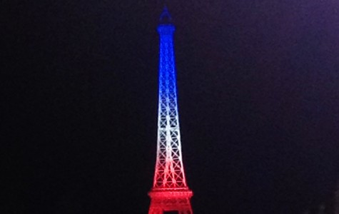 The Eiffel Tower replica in Disney's Epcot was illuminated in the colors of the French flag Saturday night. All over the world, countries are showing their support of France's terror attack victims by lighting their monuments in a similar fashion.