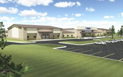 Architect's rendering of the proposed 7-12 building that will be located in Monette