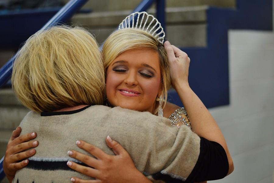 Ashley Field was crowned homecoming queen during Friday's ceremony at the MAC. The event was the first time in BIC history that the junior and senior high homecomings have been held together.