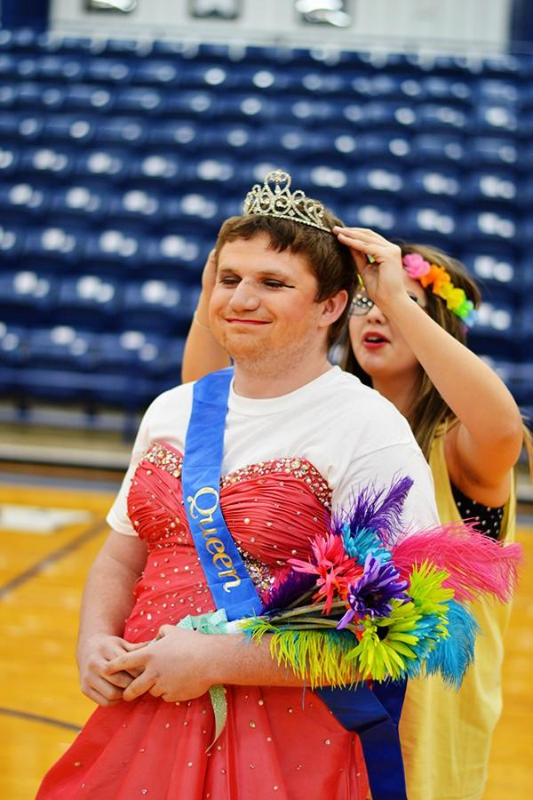 The Miss Pageant skit featured Drake Cobb briefly being crowned queen.
