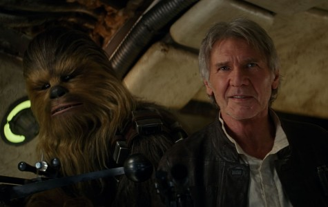 Peter Mayhew and Harrison Ford return to their iconic roles in