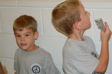 This photo from the 2006 Blue Gray Game shows current sophomore Chanse Rose in line at the MAC concession stand.