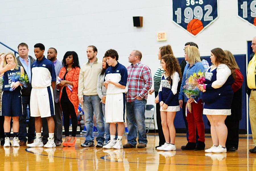 Senior night held at the MAC