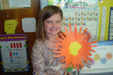 Current senior Sarah Beth Vaughn is seen in this photo dated March 16, 2006.