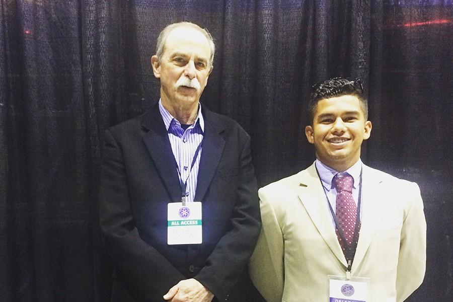 Alex Talavera had the opportunity to meet Dr. David J. Wineland, the winner of the of 2012 Nobel Prize in Physics.