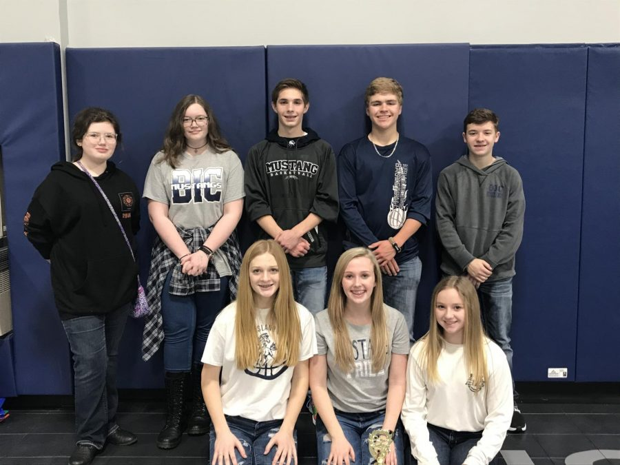 Junior High Quiz Bowl Team Places 3rd at Regionals