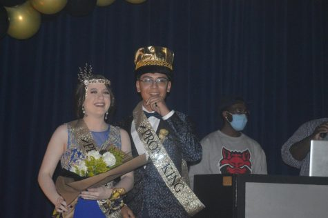 Q and A with the King and Queen: Koby Rodriguez  and Hailie Roberts